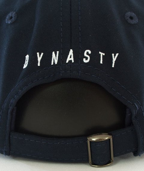 Cayler & Sons-Dynasty ATHL Curved Strapback Navy
