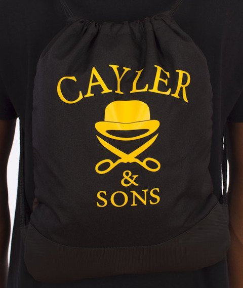 Cayler & Sons-Forever Gym Bag Woodland/Yellow