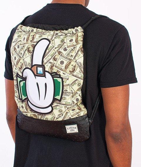 Cayler & Sons-Get Money Gym Bag Black/Multicolor