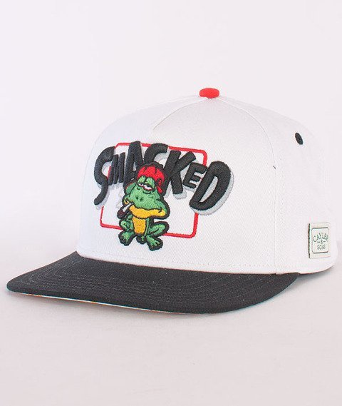 Cayler & Sons-Le Frog Cap White/Black