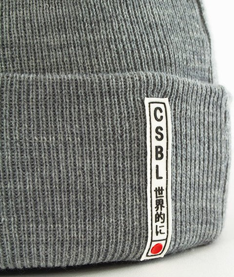 Cayler & Sons-Oath Oldschool Beanie Grey Heather
