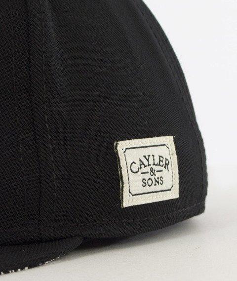 Cayler & Sons-Pray For Classic Cap Snapback Black/White