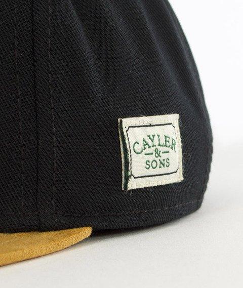 Cayler & Sons-Smokin' Trees Cap Snapback Black/Honey/White