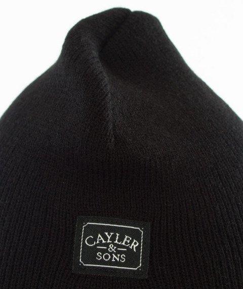 Cayler & Sons-WL Amsterdam Old School Beanie Black