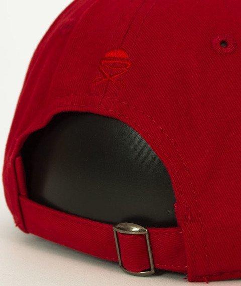 Cayler & Sons-WL Drop Out Curved Snapback Red/Orange