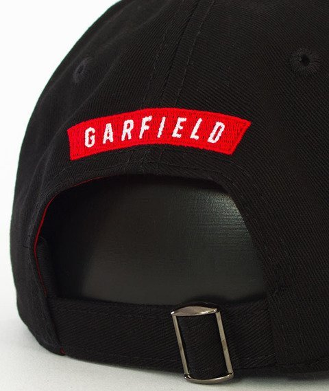 Cayler & Sons-WL Hyped Garfield Curved Strapback Black