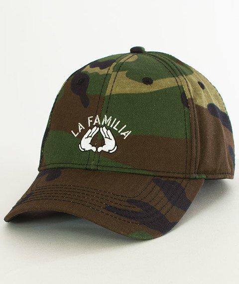 Cayler & Sons-WL La Familia Snapback Curved Camo/Black
