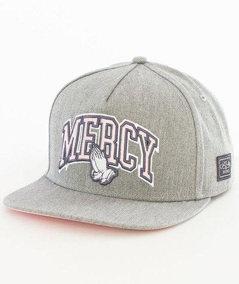 Cayler & Sons-WL Mercy Snapback Grey Heather