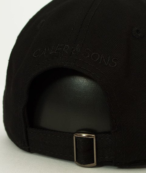 Cayler & Sons-WL Pacenstein Curved Snapback Black/Mc