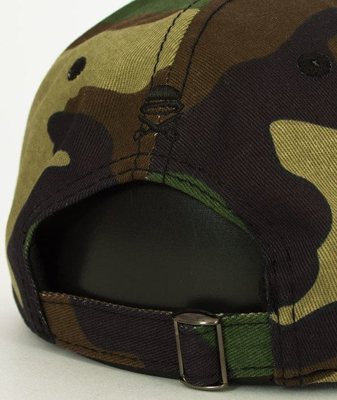 Cayler & Sons-WL Trust Curved Snapback Woodland/Red