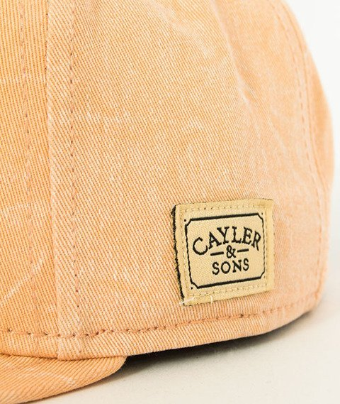 Cayler & Sons-WL Vibin' Snapback Peach/Black