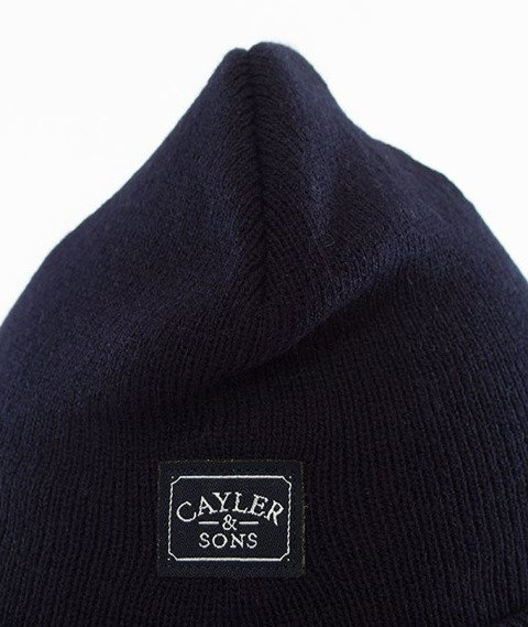 Cayler & Sons-WL Westcoast Old School Beanie Navy