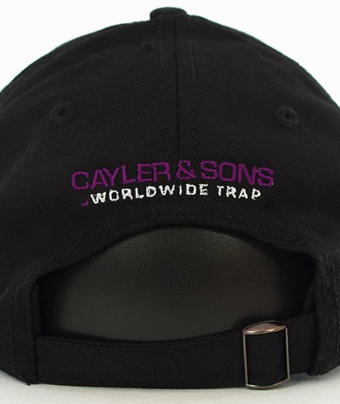 Cayler & Sons-Wicked Curved Strapback Black