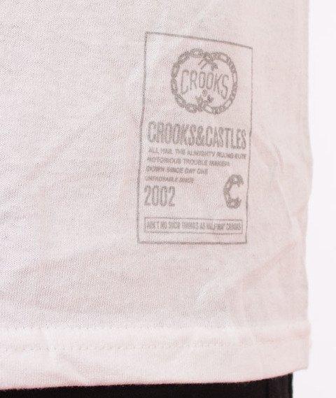 Crooks & Castles-T.R.E Grill T-Shirt Biały