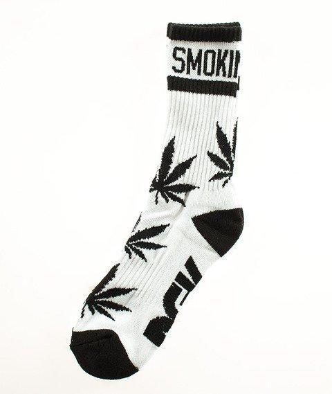 DGK-Stay Smokin' Crew Skarpetki Białe/Czarne