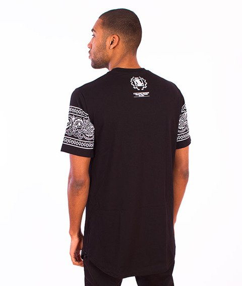 DIIL-Bandana DG Long T-shirt Czarny/Biały