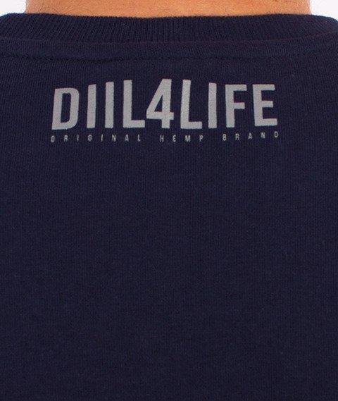 DIIL-Harvard Bluza Granatowa