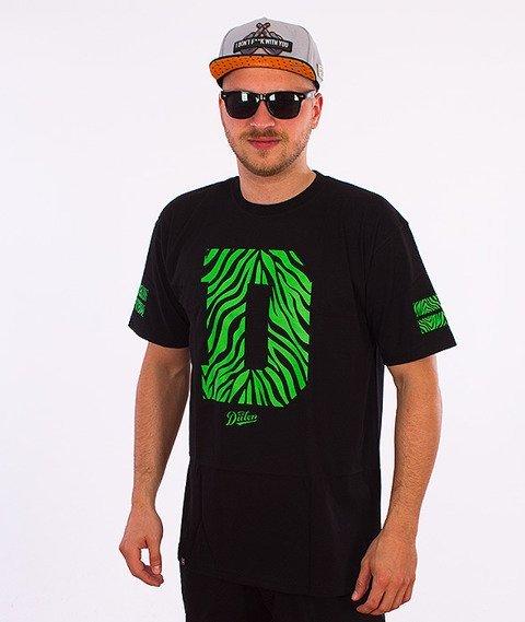 DIIL-Safari T-Shirt Czarny/Zielony