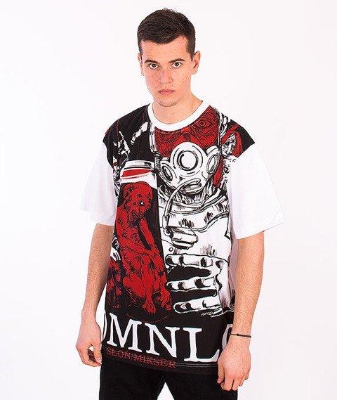 Demonologia-DMNLG Fullprint T-shirt Biały