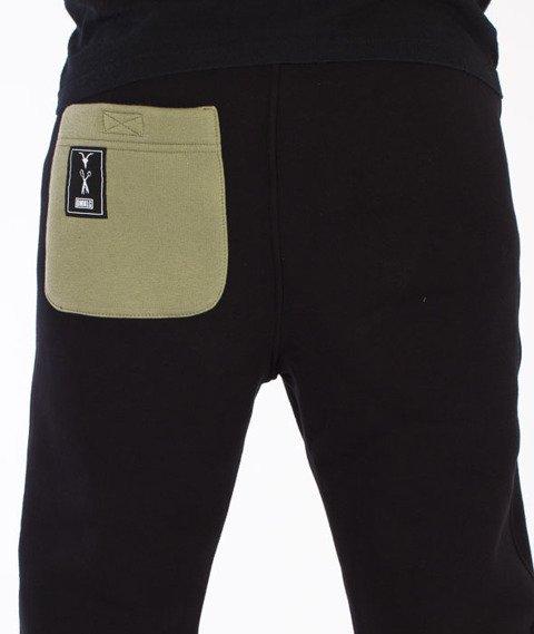 Demonologia-Evileye Spodnie Dresowe Czarne