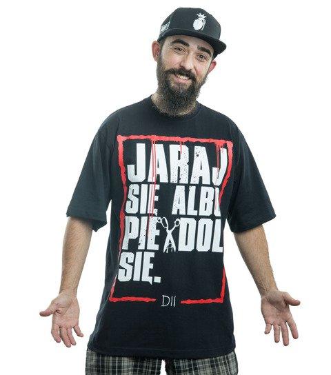 Demonologia JARAJ SIĘ T-Shirt Czarny
