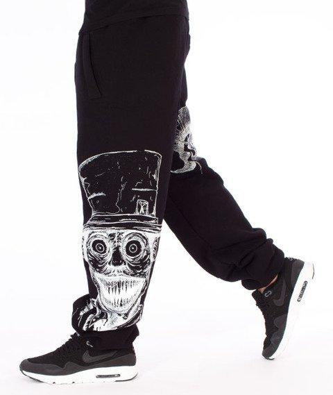 Demonologia-Kapelusznik Spodnie Dresowe Czarne