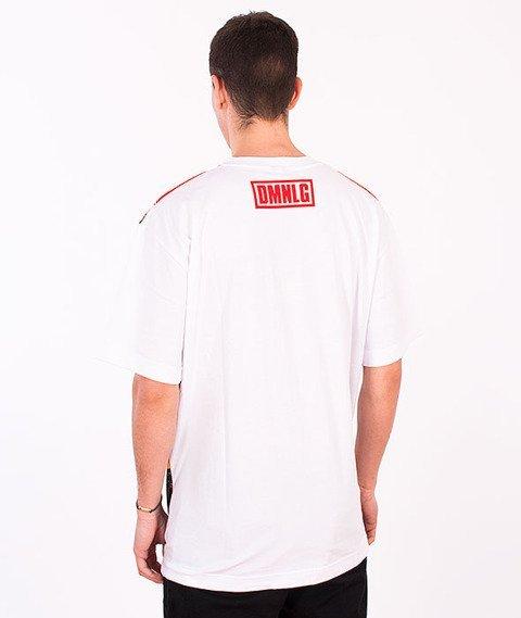 Demonologia-Lizak Oko Fullprint T-shirt Biały