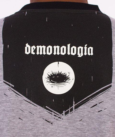 Demonologia-Rogi Bluza Szara/Czarna