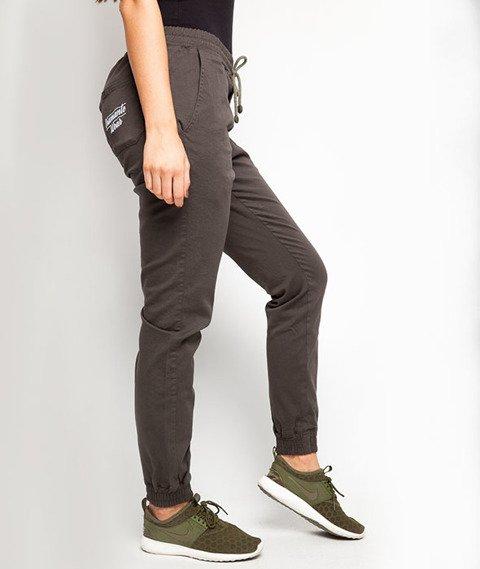 Diamante-Classic 2 Jogger Pants Oliwkowe