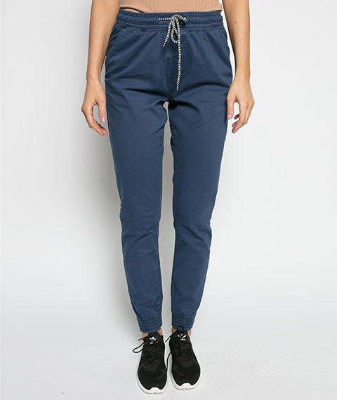 Diamante-Classic Jogger Pants Spodnie Ciemno-Niebieskie