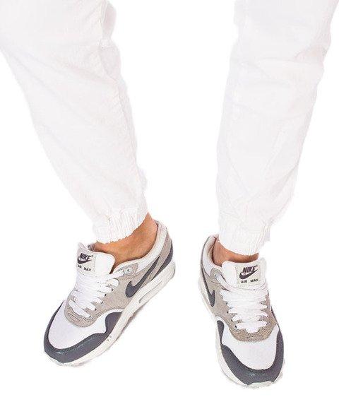 Diamante-Classic Jogger RM Spodnie Białe