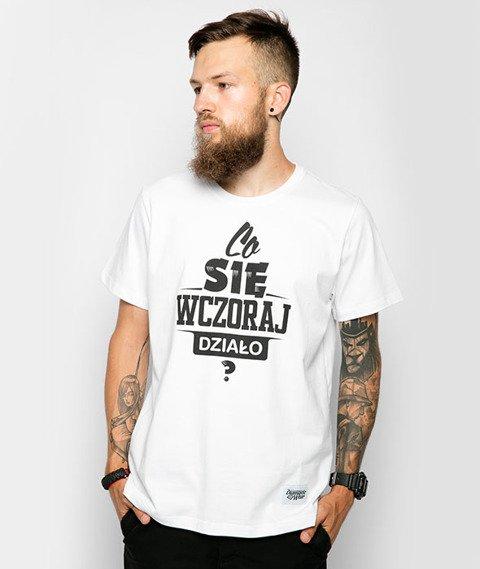 Diamante-Co Się Wczoraj Działo? T-Shirt Biały