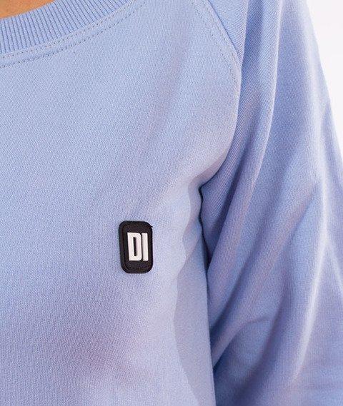 Diamante-DI Crewneck Damski Bluza Błękitna