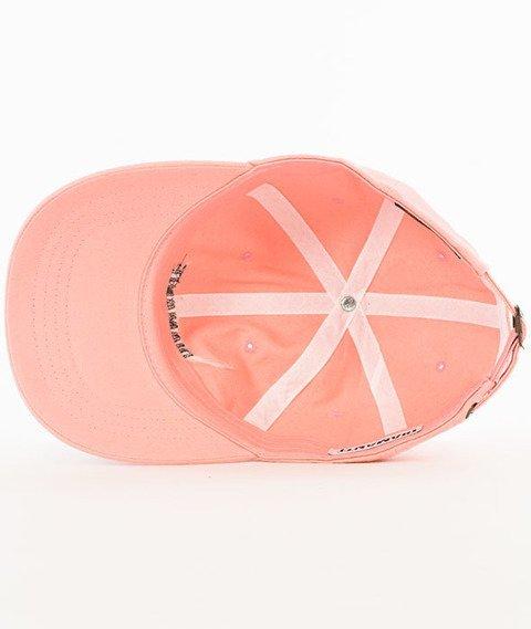 Diamante-Diamante Baseball Czapka Snapback Różowa