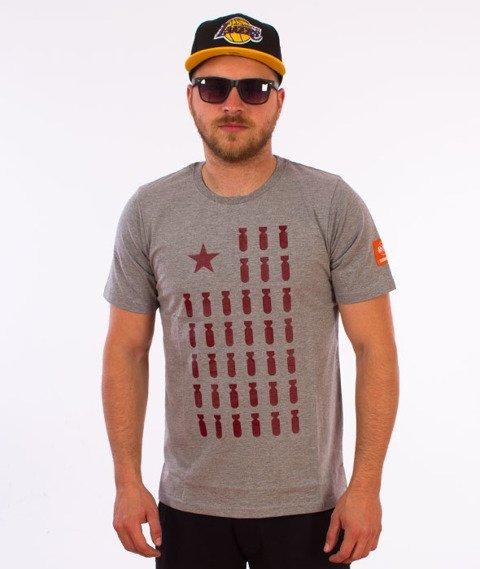 Diamante-Flag 01 T-Shirt Szary