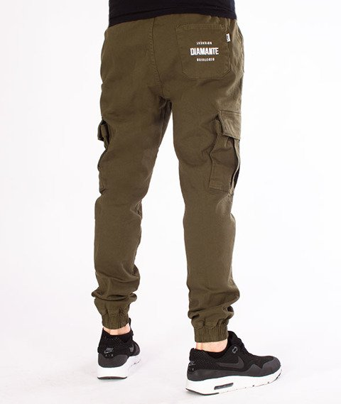 Diamante-Jogger RM Hunter Khaki
