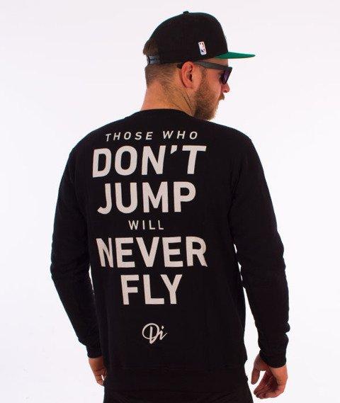 Diamante-Never Fly Bluza Czarna