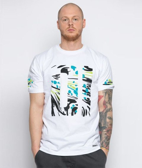 Diamante-Pollock T-Shirt Biały