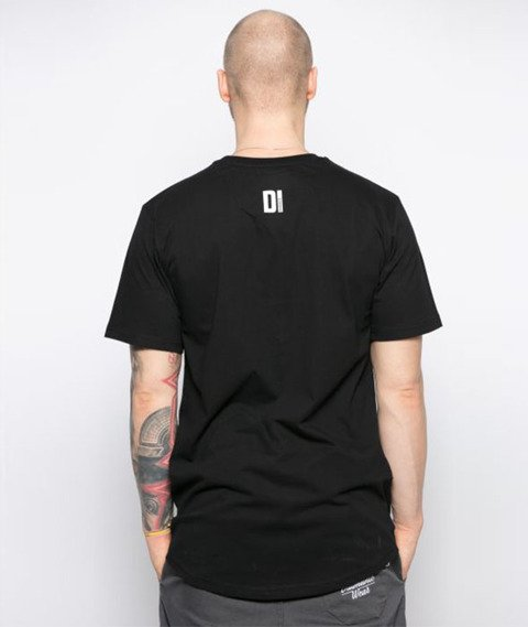 Diamante-Scratch T-Shirt Czarny