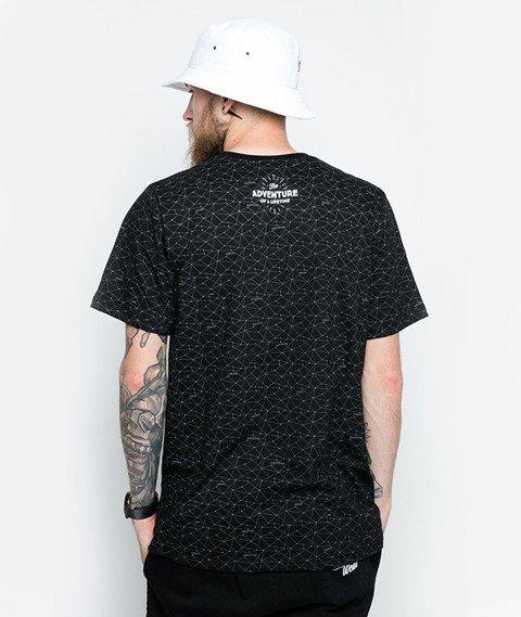 Diamante-Włajaż T-Shirt Czarny