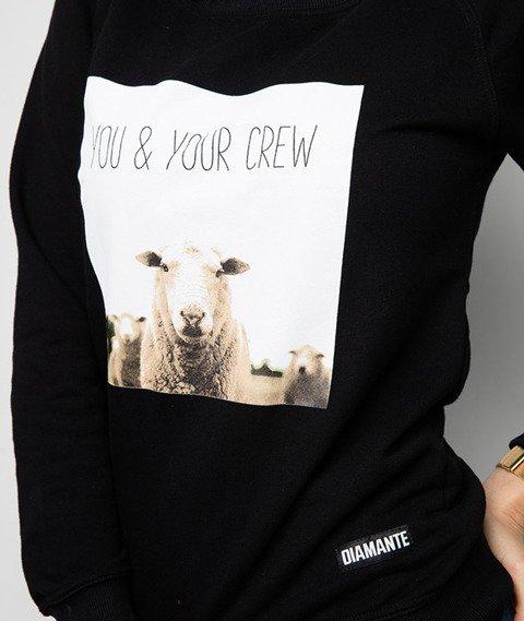 Diamante-You & Your Crew Bluza Damska Czarna