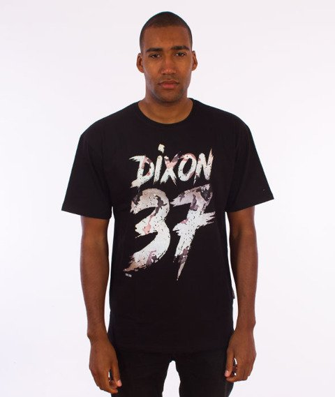 Dixon37-DIX Desert T-Shirt Czarny