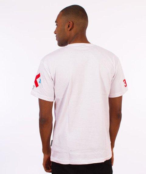 Dixon37-DIX Gradient T-Shirt Biały
