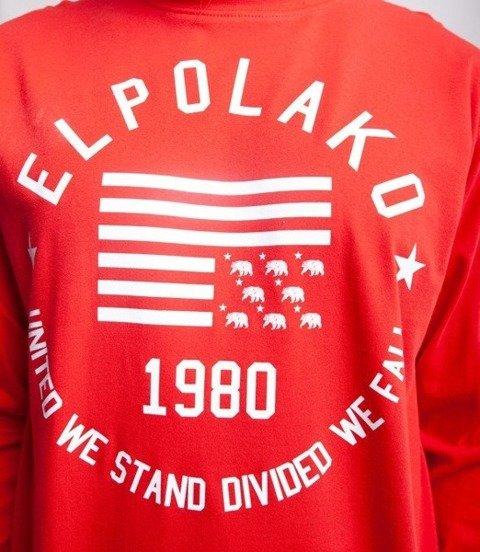 El Polako 1980 Longsleeve Czerwony