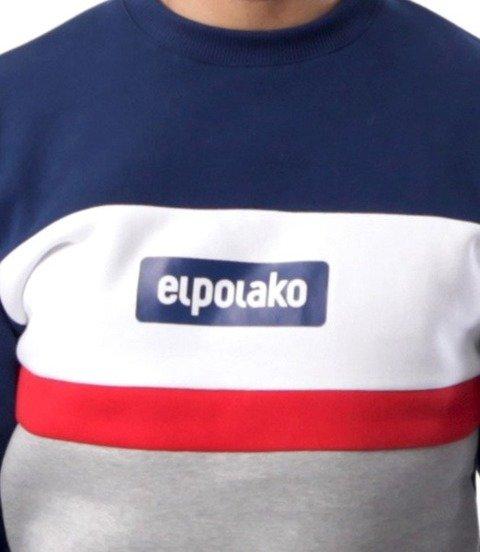 El Polako-3EP Cut Bluza Granat
