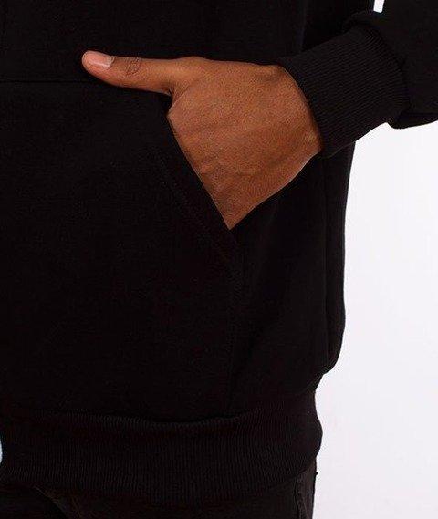 El Polako-Alfabet Bluza Rozpinana Kaptur Czarna