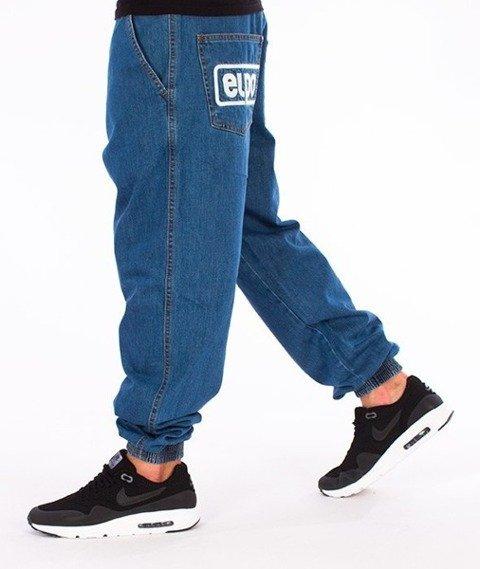 El Polako-Below Regular Jogger Spodnie Light Blue