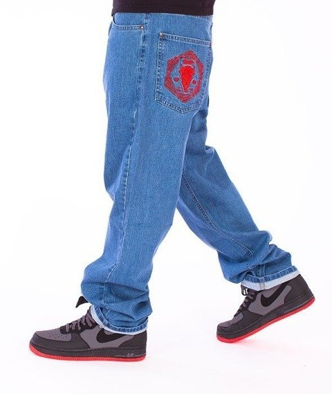 El Polako-Bull Regular Jeans Light Blue
