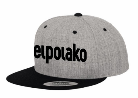 El Polako CLASSIC Snapback Szary/Czarny