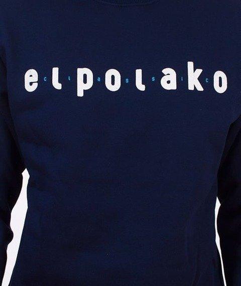 El Polako-Classic Bluza Granatowa